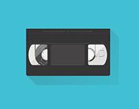 VHS Flat Design