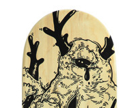 SDA 2011 -Skate Deck Art- Customized Collectibles