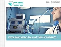 Especialidades Medicas San Judas Tadeo website