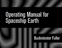 Operating Manual for Spaceship Earth Book