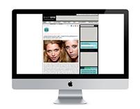 Beauty Editor  - A Wordpress Website