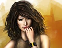 Goldenblack Girl
