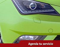 Seat Cancún, aplicación de reserva para facebook