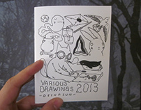 Various Drawing 2013 Zine