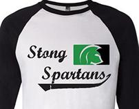 Stong College Baseball T