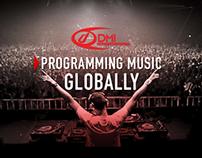 DMI In-store music programming website