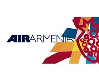 Air Armenia re-branding proposal 2