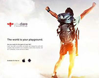 iOS 7, Android App UI/UX Web Site promotion Design