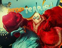 Santa-Superhero