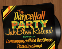 The DanceHall Party  (Flyer Evento)