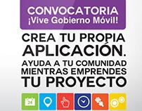 Imagen 3ra Convocatoria Vive Gobierno Móvil