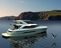 75 Flybridge Concept