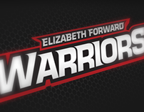 Elizabeth Forward Warriors Rebrand Concept