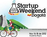 Startup Weekend -Bogotá  Noviembre 23 del 2012