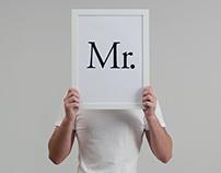 Presenting Mr.