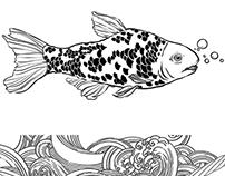 """""""Fish & Wave"""" pattern"""