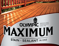 Olympic Stain Label Design and Production