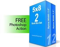 100% FREE Mockup- 2 Book Box Set