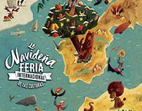 La Navideña Feria de las culturas de Madrid, 2016.