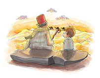 Children's book illustrations - Kırmızı Kedi 2015