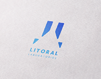 Litoral Laboratorios Logotype