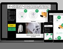 Strona internetowa / Website – T-SHIRT-DECORATION