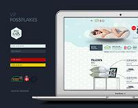 FOSSFLAKES Web Design
