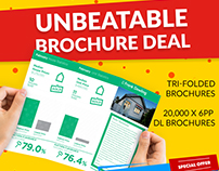 Unbeatable Brochure Deal Promo Campaign for HPP
