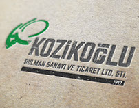 Kozikoğlu corporate identity