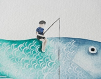 """""""Der Traum unter Wasser"""" watercolors"""