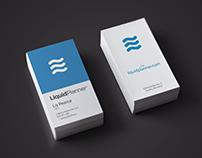 LiquidPlanner Business Card
