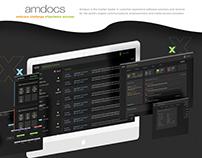 Amdocs - UX UI & Graphic design