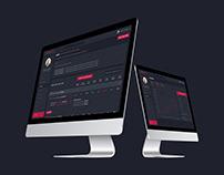 Modern Creative Dashboard UI
