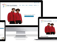 CW Clothing Website Development