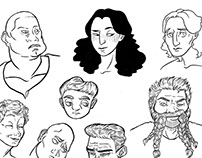 Character Design-Profiles
