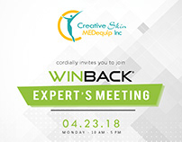 Winback relaunch Invitation
