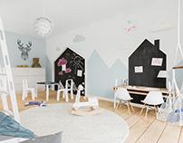 Scandinavian Childroom / Interior Design