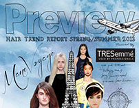 PREVIEW Hair Trend Report SS 2013 presented by TRESemmé
