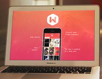 Wallz App Website