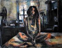 "Self at the room 2                Ambaba room series"""