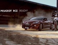 Peugeot RCZ vs Downhill