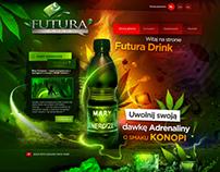 FUTURA DRINK - graphic design