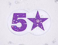 5 Star Xmas Ident 2013