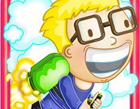 Ilustraciones de ícono y capturas para app de Adroid II