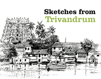 Sketches from Trivandrum