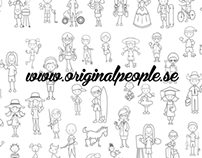 originalpeople family sticker