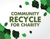 Typography: Recycle for Charity