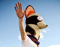 Gaston the Weasel Mascot for E-180 (2013)