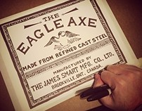 The Eagle Axe Label