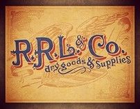 RRL & Co. Dry Goods & Supplies